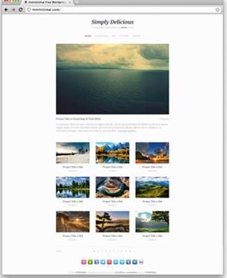 Free WordPress Photo Theme