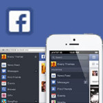 Facebook PC Mobile New Look