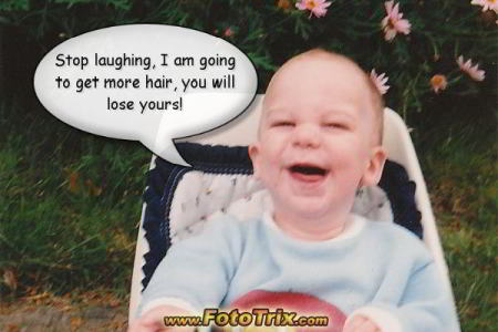 Fototrix baby  funny free picture quotes