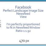 Facebook Image Sizes Timeline Newsfeed