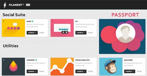 Filament Apps Flare Passport Google Analytics Ivy Codedrop