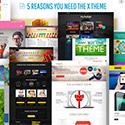 X The theme WordPress