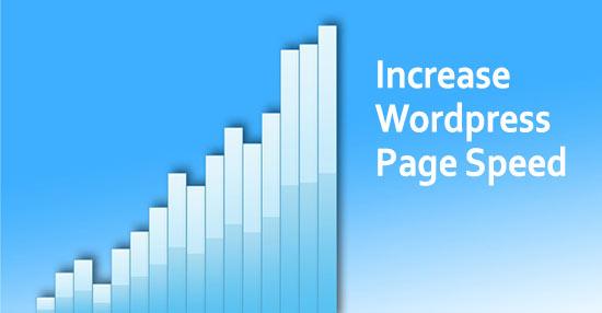 Increase WordPress Page ChartSpeed