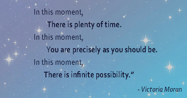 Mindfulness Quote In this moment